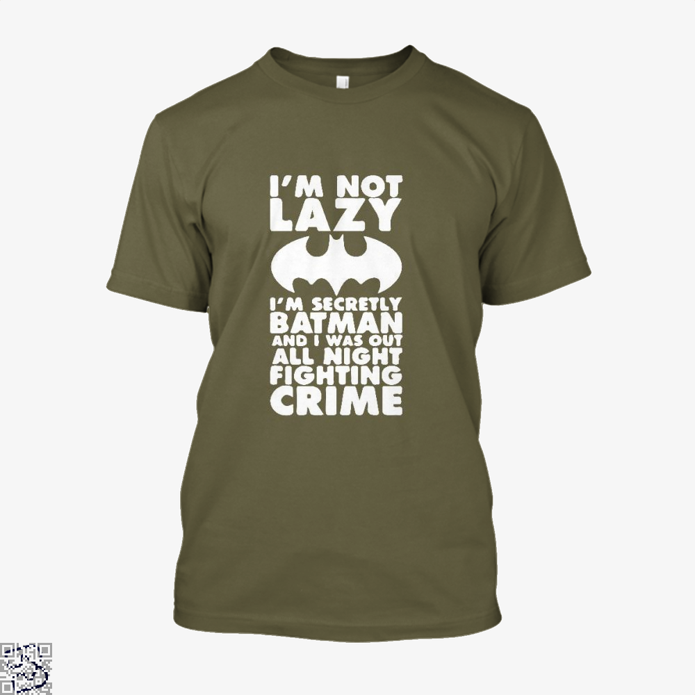 Being Batman Shirt - Men / Brown / X-Small - Productgenjpg