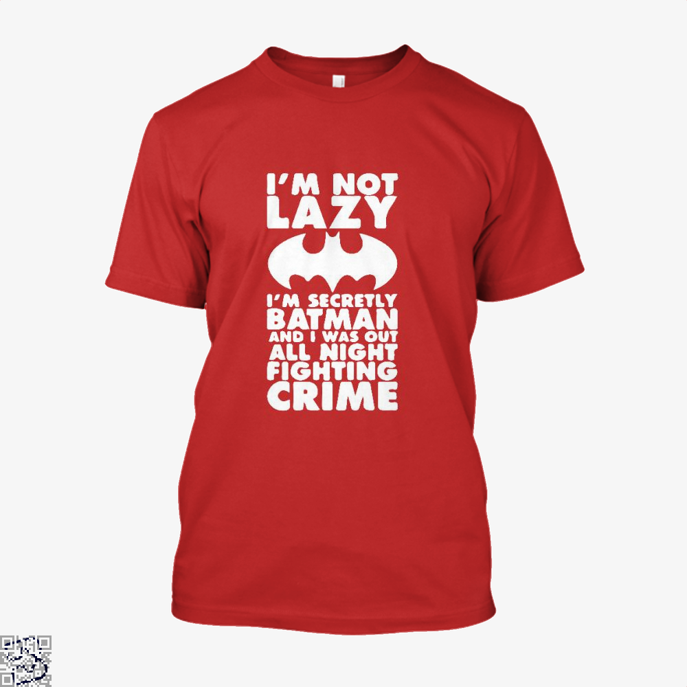 Being Batman Shirt - Men / Red / X-Small - Productgenjpg