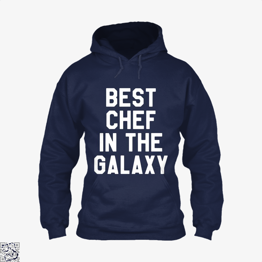 Best Chef In The Galaxy Chefs Hoodie - Blue / X-Small - Productgenapi