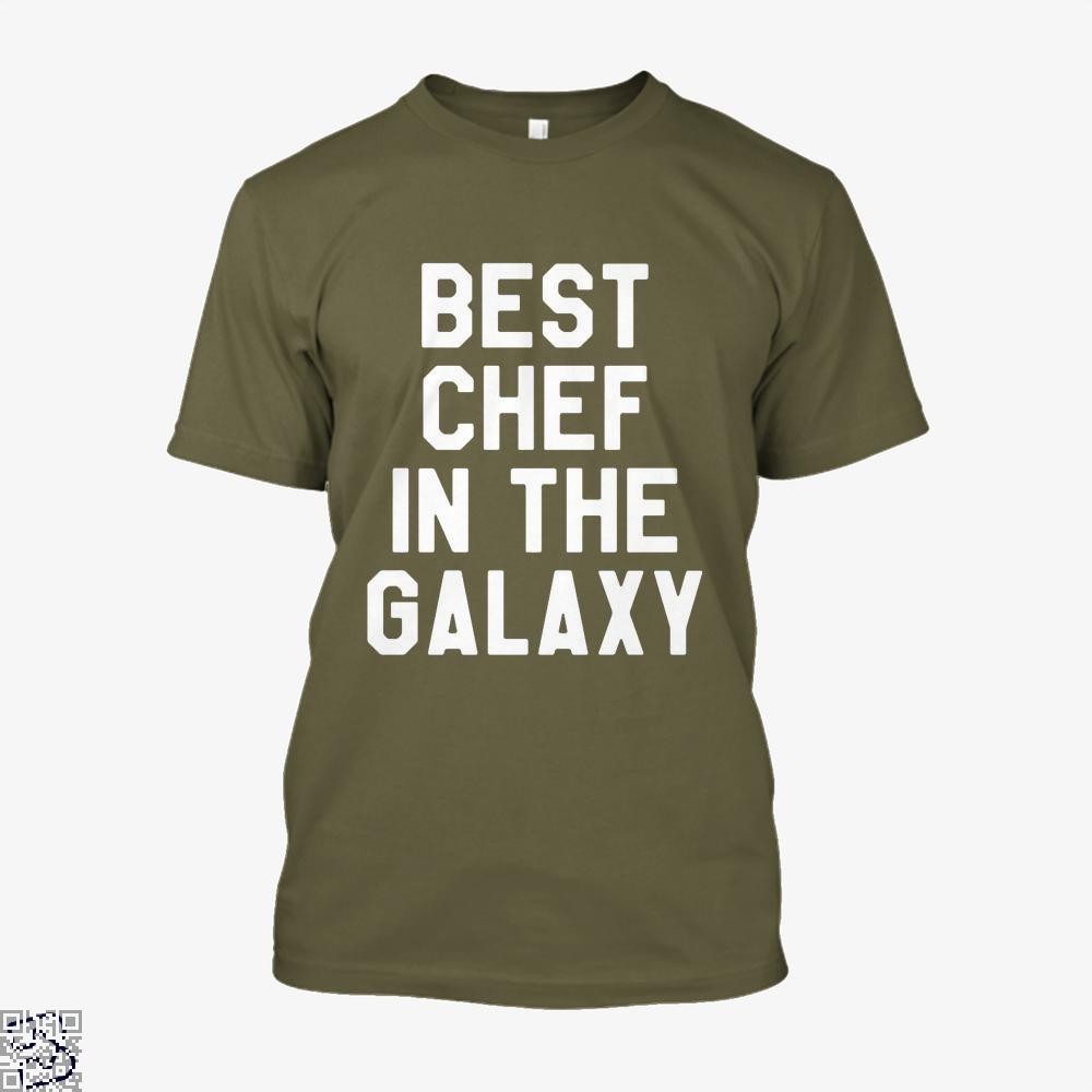 Best Chef In The Galaxy Chefs Shirt - Men / Brown / X-Small - Productgenapi