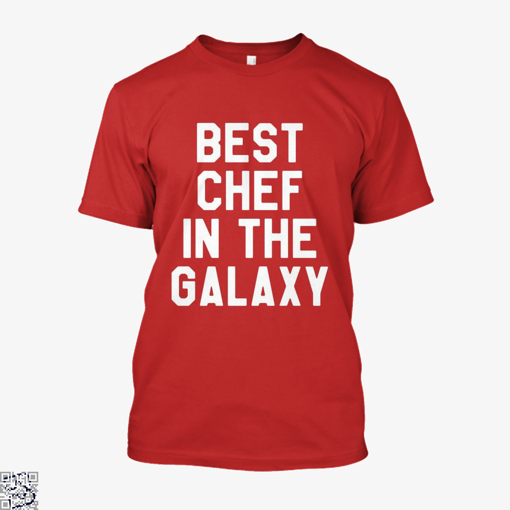 Best Chef In The Galaxy Chefs Shirt - Men / Red / X-Small - Productgenapi