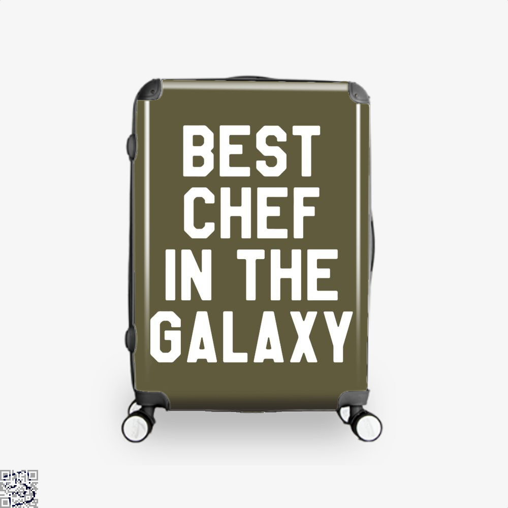 Best Chef In The Galaxy Chefs Suitcase - Brown / 16 - Productgenapi