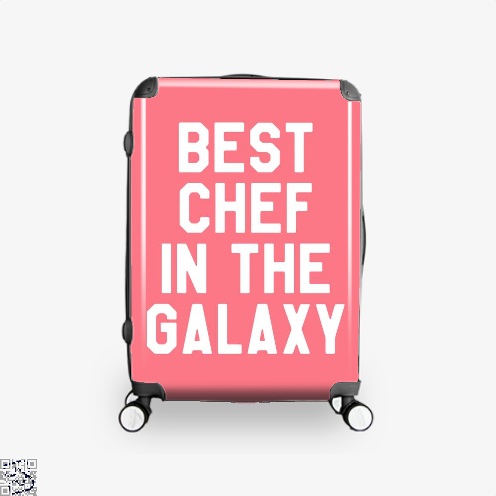 Best Chef In The Galaxy Chefs Suitcase - Pink / 16 - Productgenapi