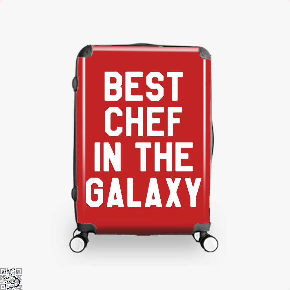 Best Chef In The Galaxy Chefs Suitcase - Red / 16 - Productgenapi