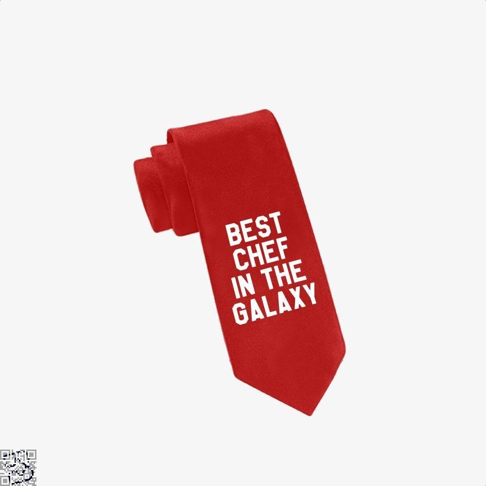 Best Chef In The Galaxy Chefs Tie - Red - Productgenapi
