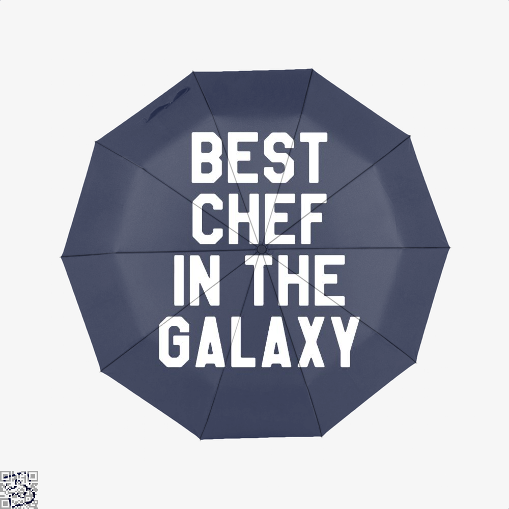 Best Chef In The Galaxy Chefs Umbrella - Blue - Productgenapi