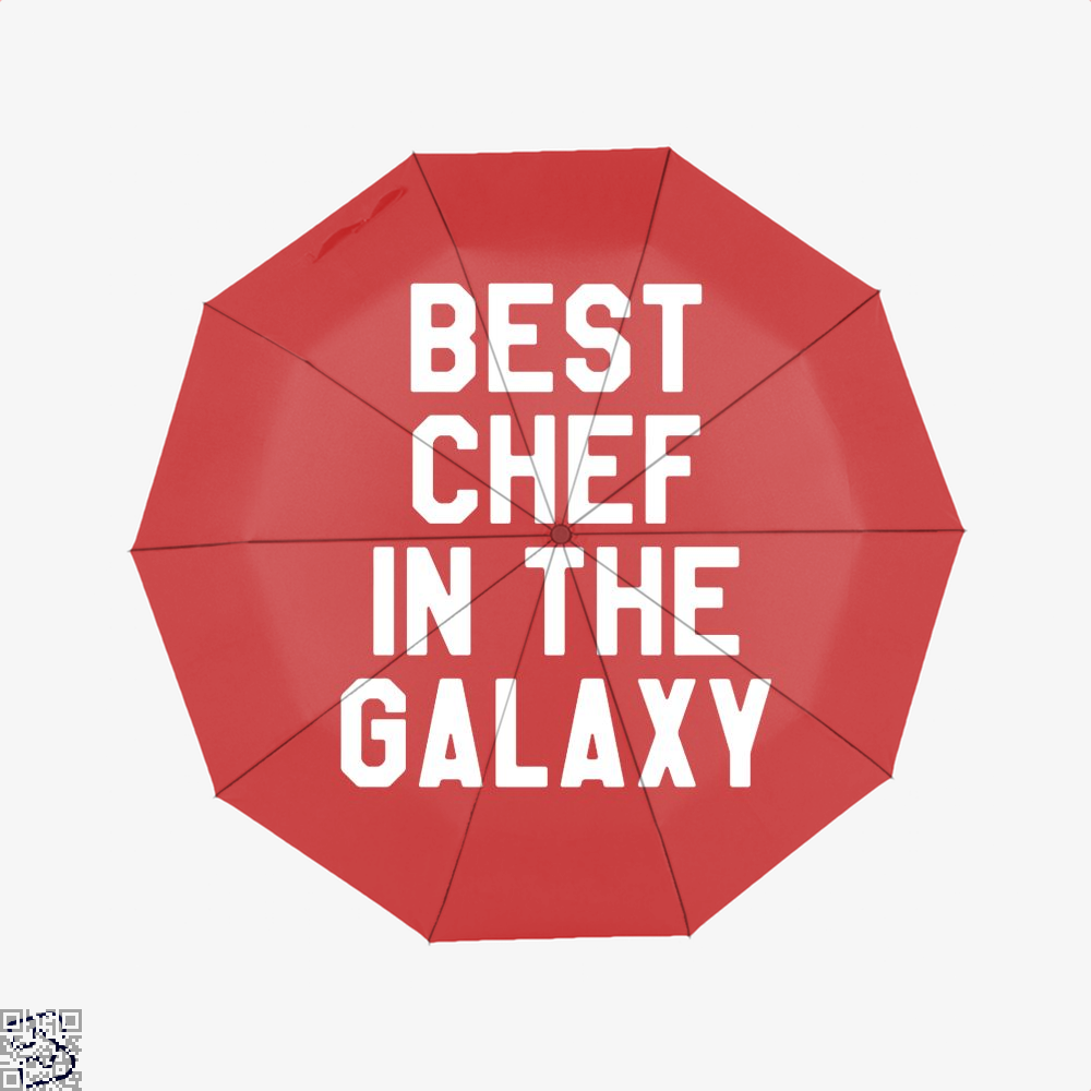 Best Chef In The Galaxy Chefs Umbrella - Red - Productgenapi