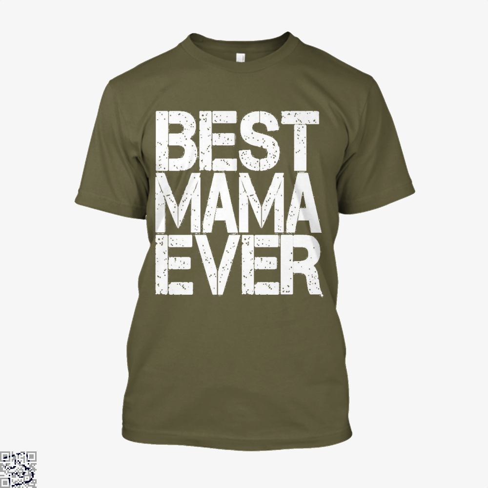Best Mama Ever Mothers Day Shirt - Men / Brown / X-Small - Productgenjpg
