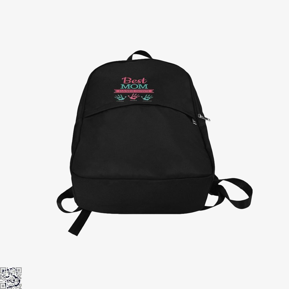 Best Mom Hands Down Mothers Day Backpack - Productgenjpg