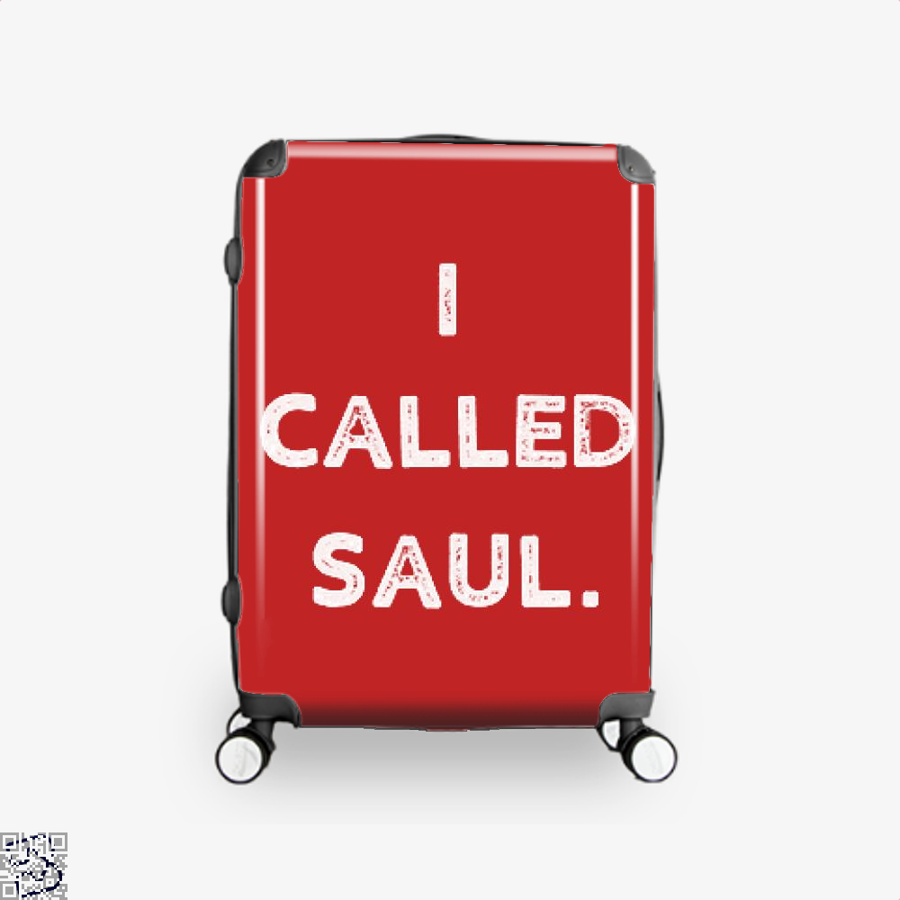 Better Call Saul Epigrammatic Suitcase - Red / 16 - Productgenjpg