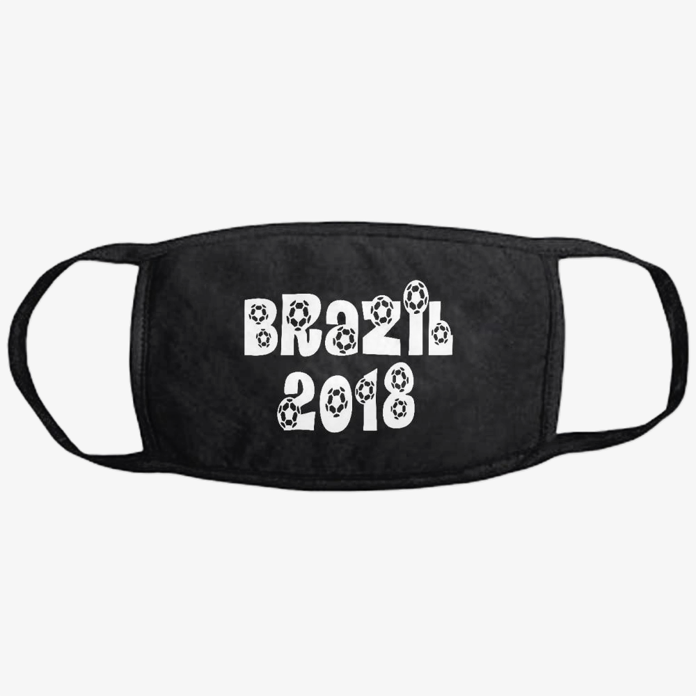 Brazil 2018, Fifa World Cup Classic Reusable Mask