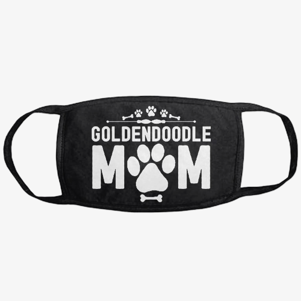 Goldendoodle Mom, Family Love Classic Reusable Mask