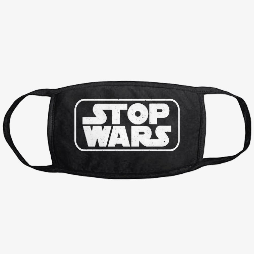 Stop Wars, Philadelphia Football Fans Classic Reusable Mask