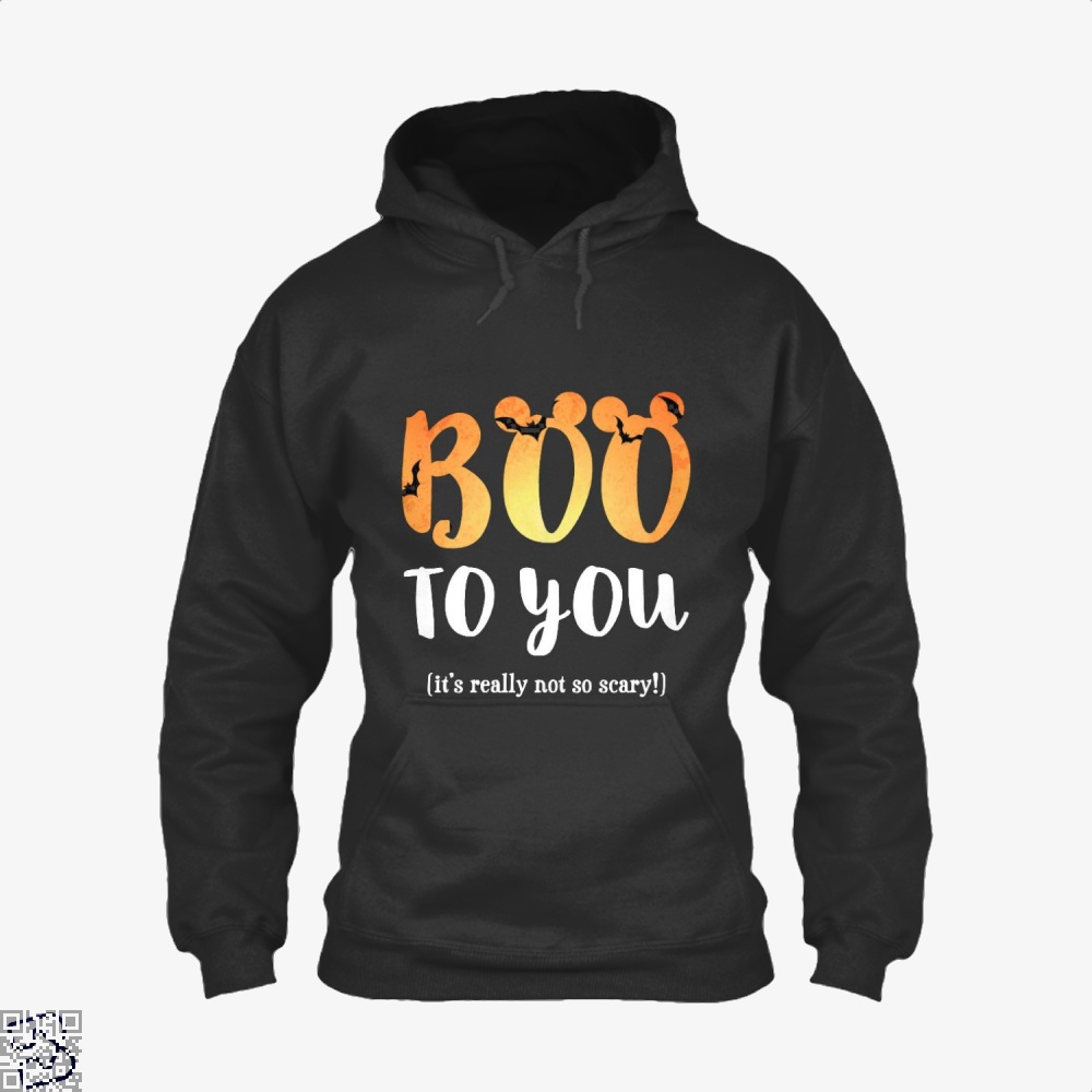Boo To You Halloween Hoodie - Black / X-Small - Productgenjpg