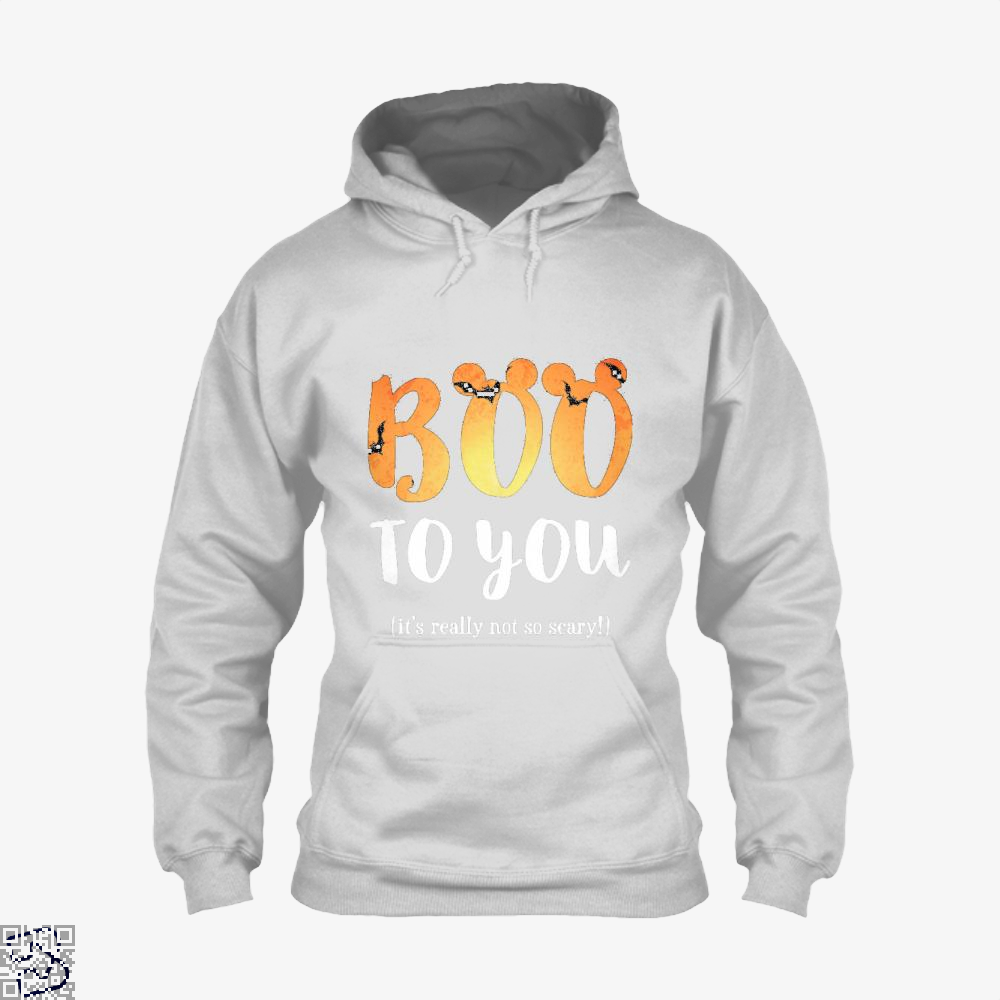 Boo To You Halloween Hoodie - White / X-Small - Productgenjpg