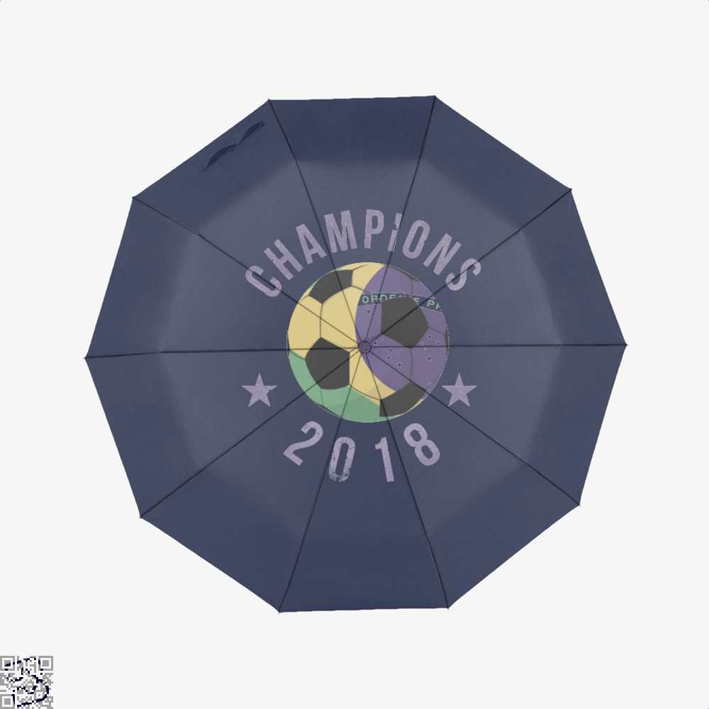 Brazil Soccer Team Football Cup 2018 Fifa World Umbrella - Blue - Productgenapi