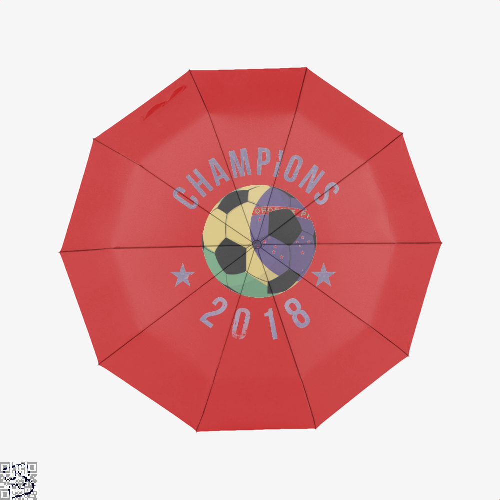 Brazil Soccer Team Football Cup 2018 Fifa World Umbrella - Red - Productgenapi