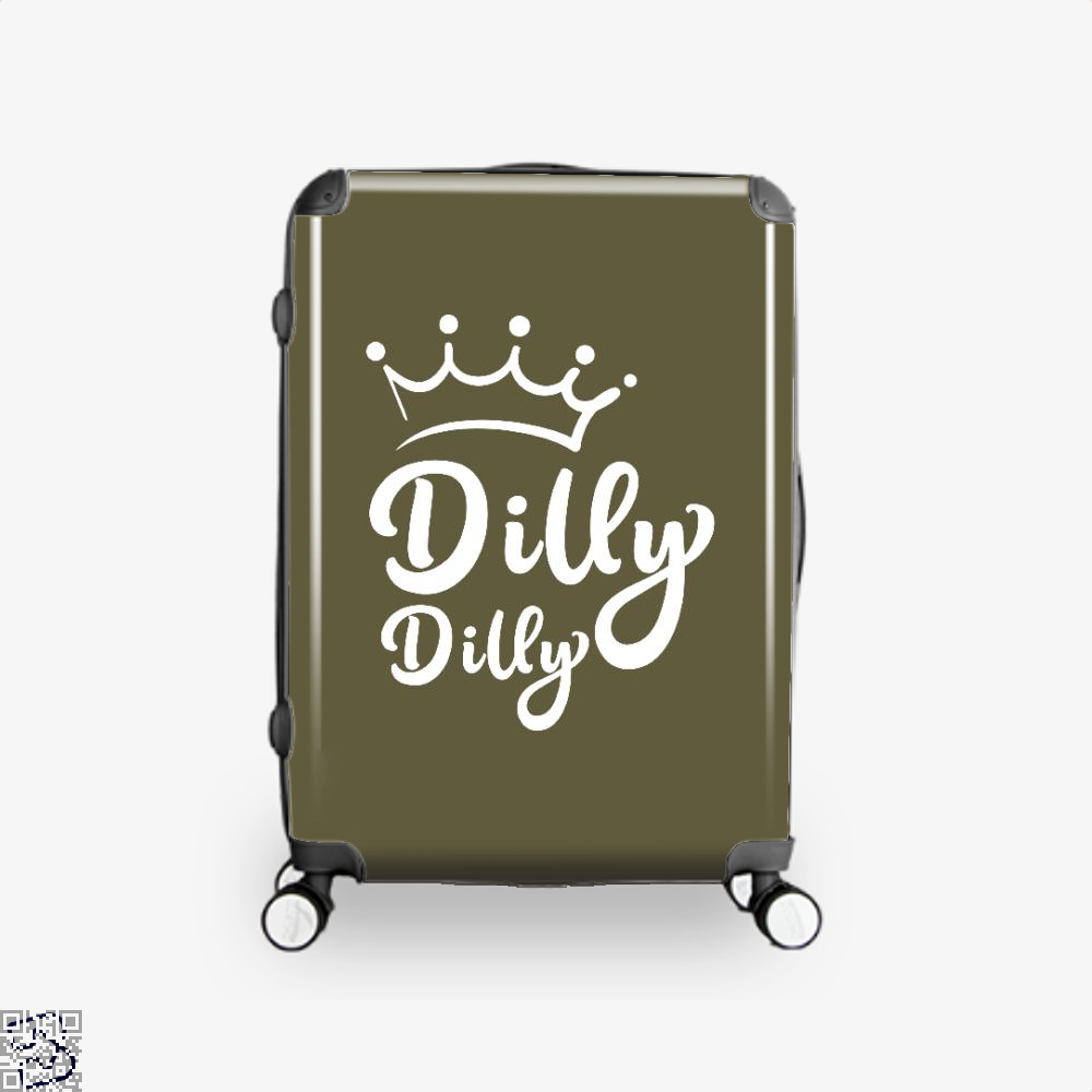 Bud Light Dilly Dilly Bud Light Dilly Dilly Suitcase - Brown / 16 - Productgenapi