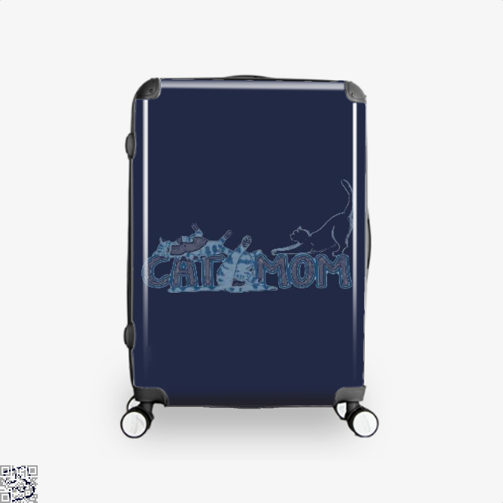Cat Mom Mothers Day Suitcase - Blue / 16 - Productgenjpg