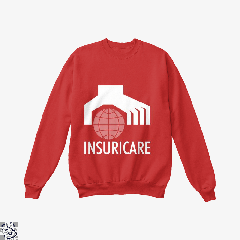 Catch Insuricare Incredibles Crew Neck Sweatshirt - Red / X-Small - Productgenapi