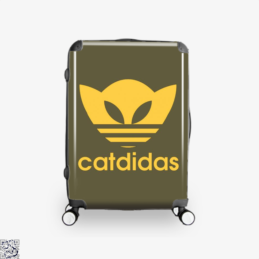 Catdidas Cat Suitcase - Brown / 16 - Productgenjpg