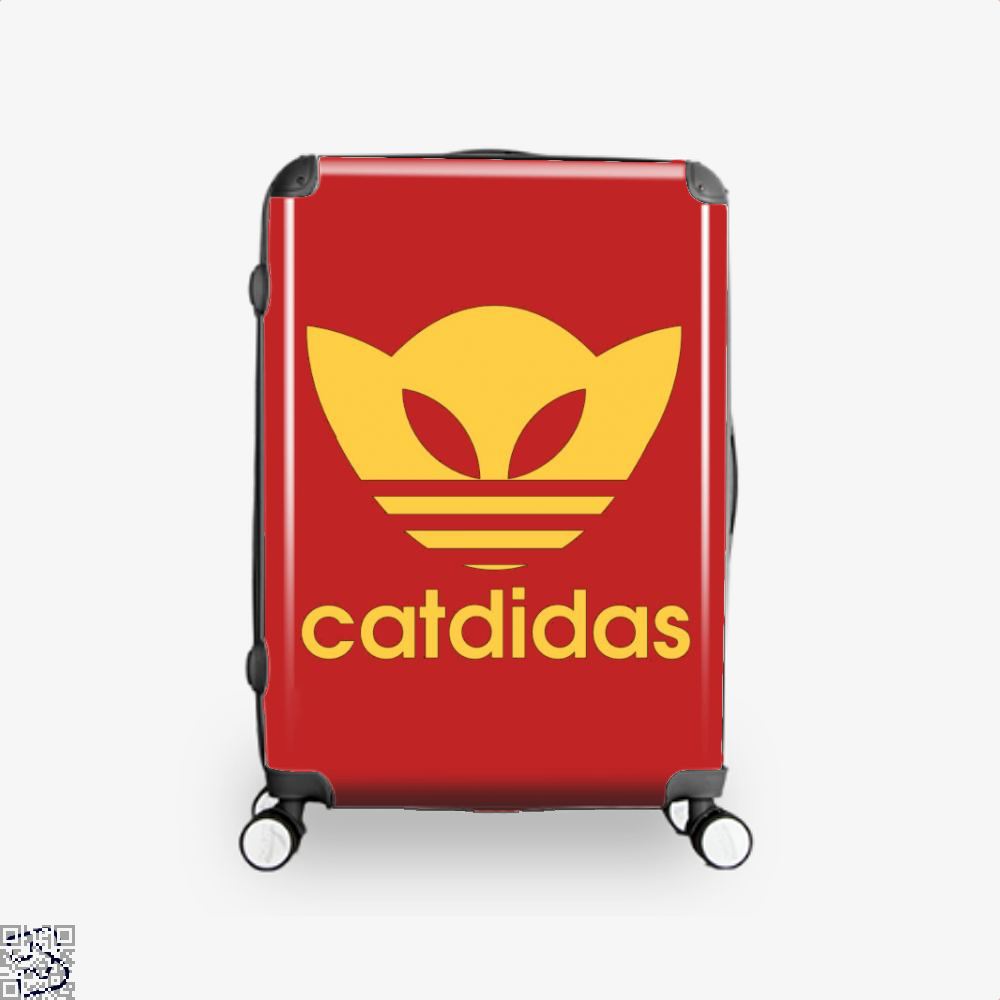 Catdidas Cat Suitcase - Red / 16 - Productgenjpg