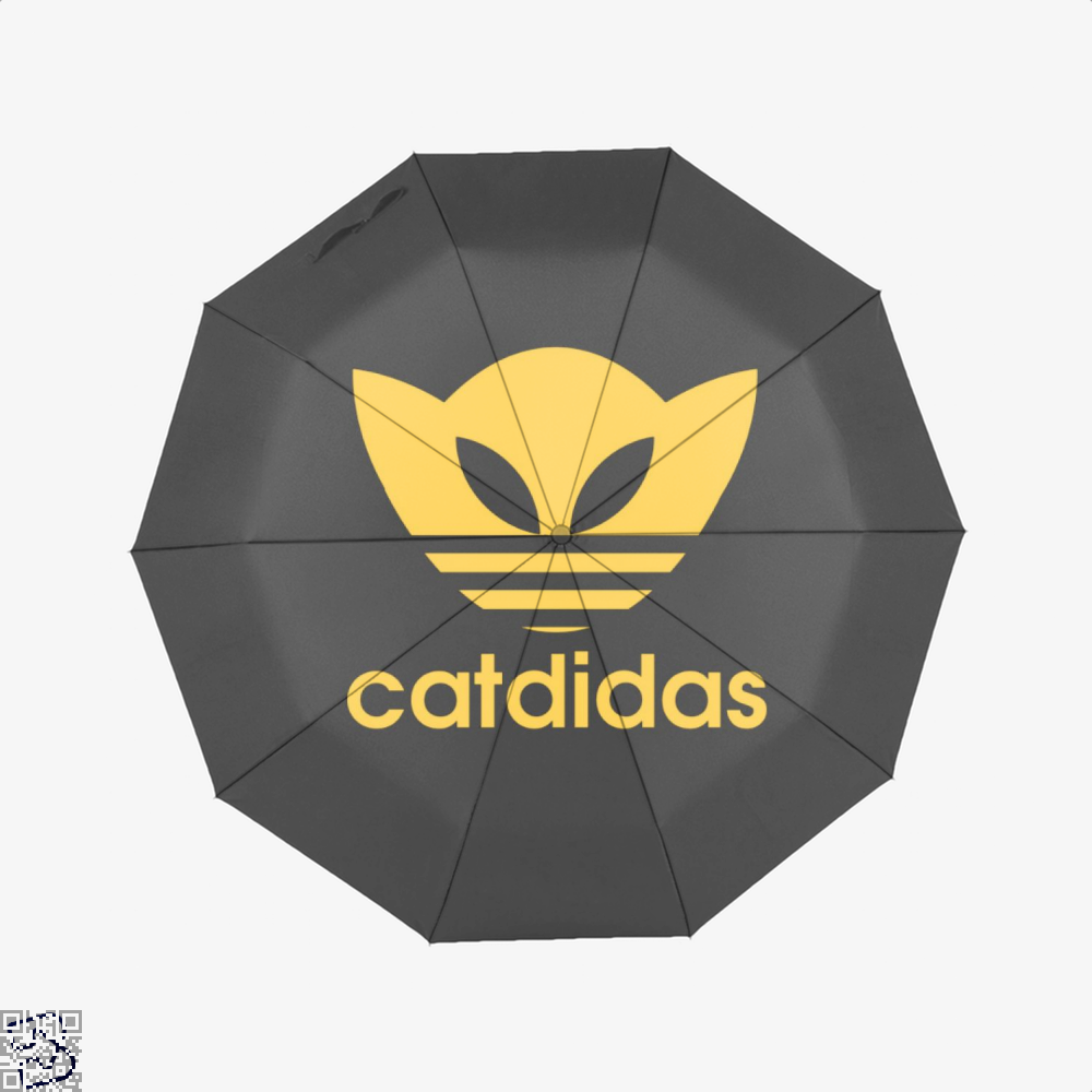 Catdidas Cat Umbrella - Black - Productgenjpg