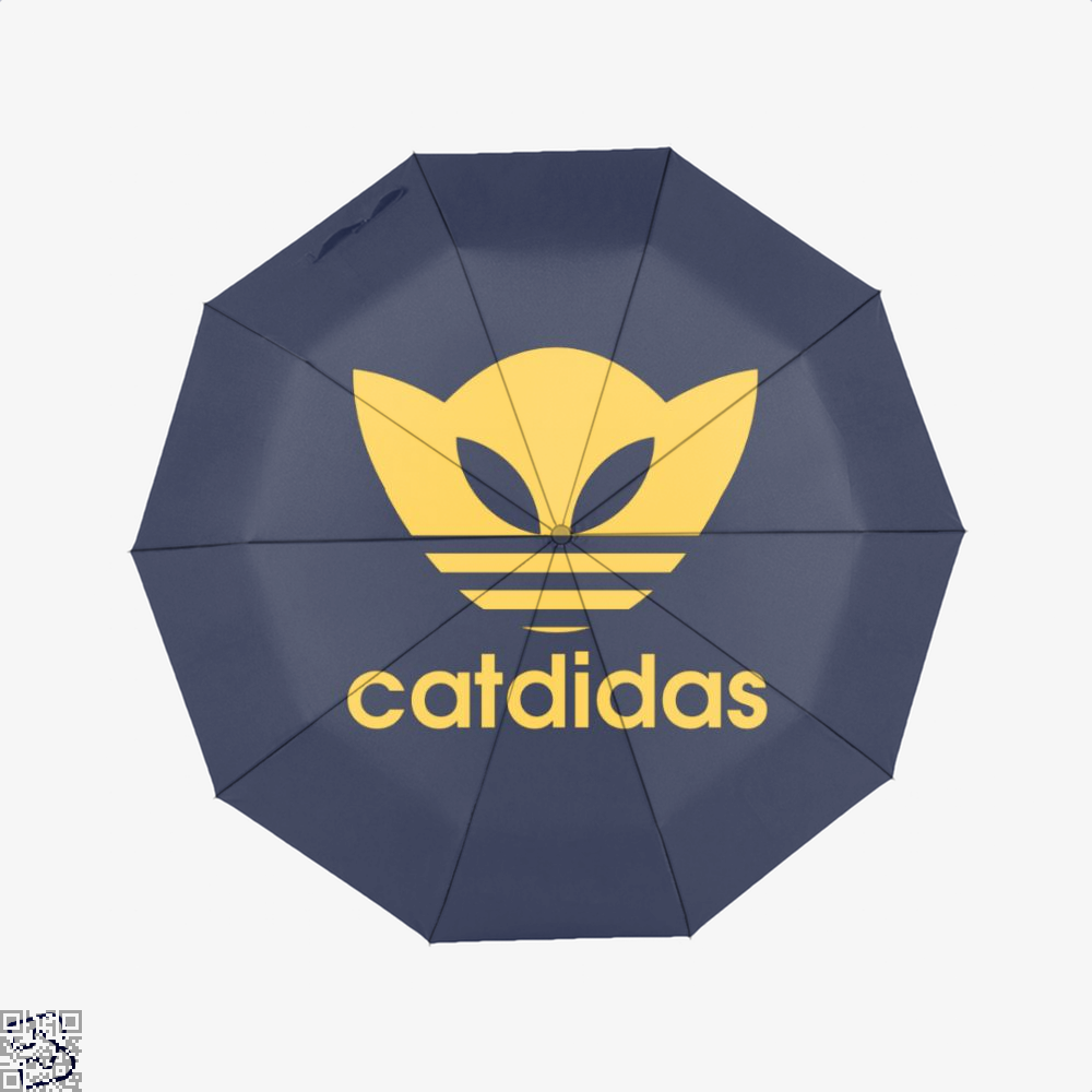 Catdidas Cat Umbrella - Blue - Productgenjpg