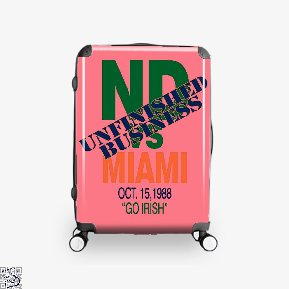 Catholics Vs Convicts On Back 1988 Epigrammatic Suitcase - Pink / 16 - Productgenjpg