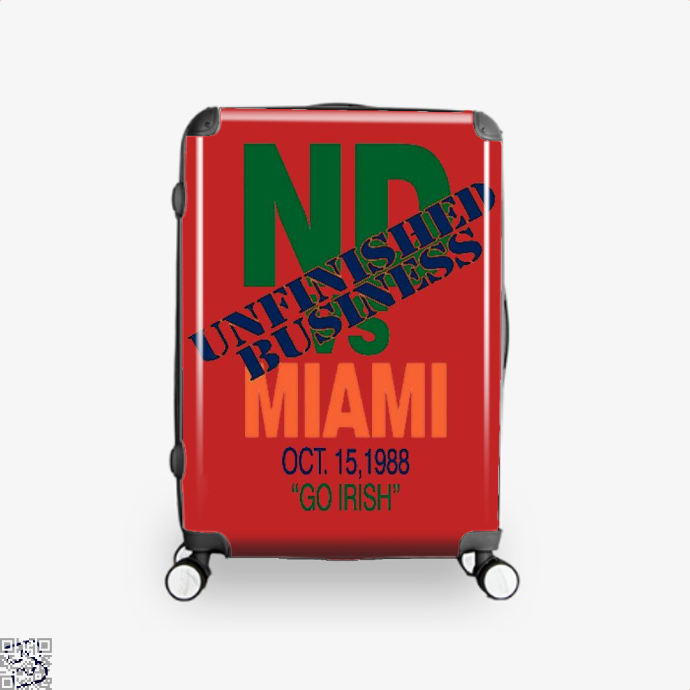 Catholics Vs Convicts On Back 1988 Epigrammatic Suitcase - Red / 16 - Productgenjpg