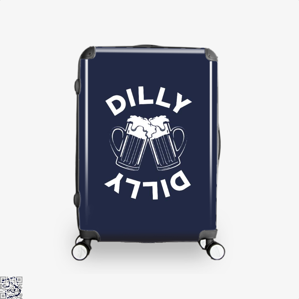 Cheers Dilly Dilly Dilly Dilly Suitcase - Blue / 16 - Productgenapi