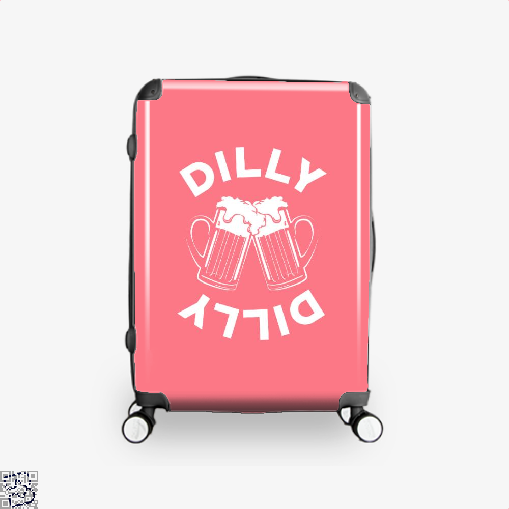 Cheers Dilly Dilly Dilly Dilly Suitcase - Pink / 16 - Productgenapi