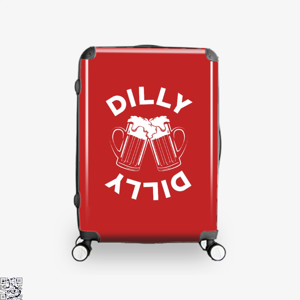 Cheers Dilly Dilly Dilly Dilly Suitcase - Red / 16 - Productgenapi