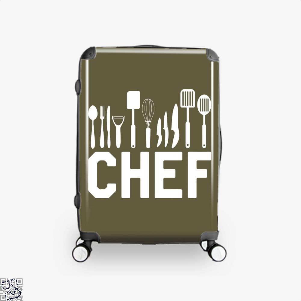 Chef Tools Chefs Suitcase - Brown / 16 - Productgenapi