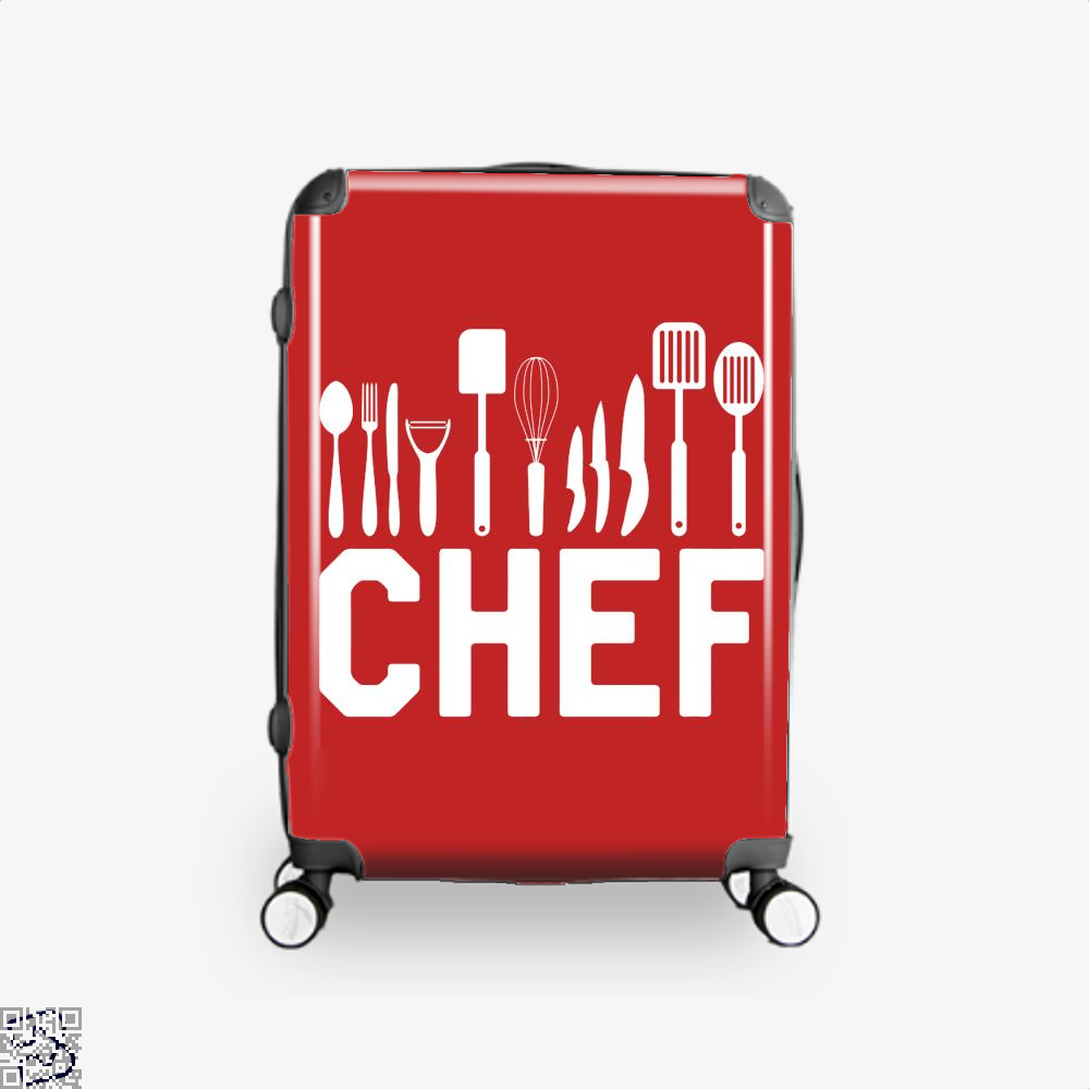 Chef Tools Chefs Suitcase - Red / 16 - Productgenapi