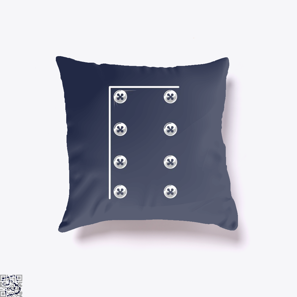 Chefs Jacket Throw Pillow Cover - Blue / 16 X - Productgenapi