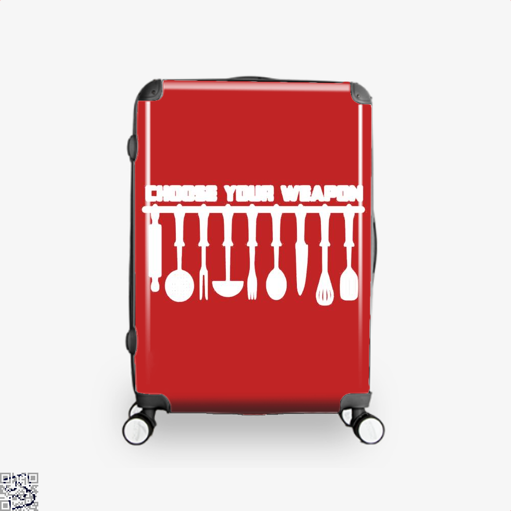 Choose Your Weapon Chefs Suitcase - Red / 16 - Productgenapi