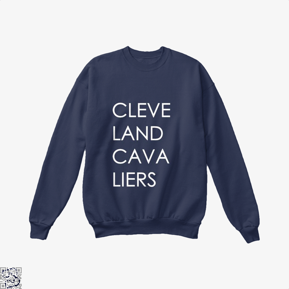 Cleveland Cavaliers Cavs Crew Neck Sweatshirt - Blue / X-Small - Productgenapi