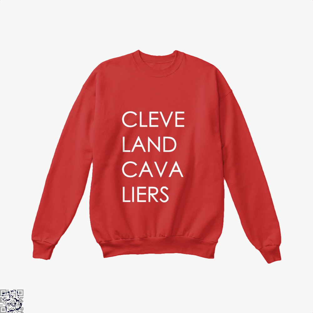 Cleveland Cavaliers Cavs Crew Neck Sweatshirt - Red / X-Small - Productgenapi