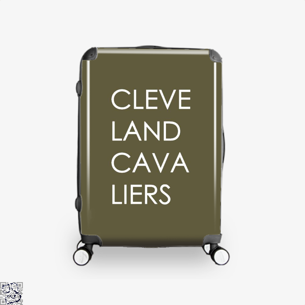 Cleveland Cavaliers Cavs Suitcase - Brown / 16 - Productgenapi