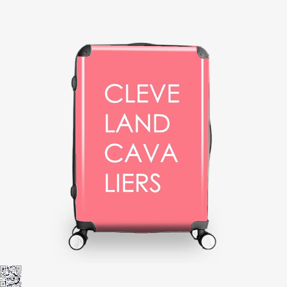 Cleveland Cavaliers Cavs Suitcase - Pink / 16 - Productgenapi