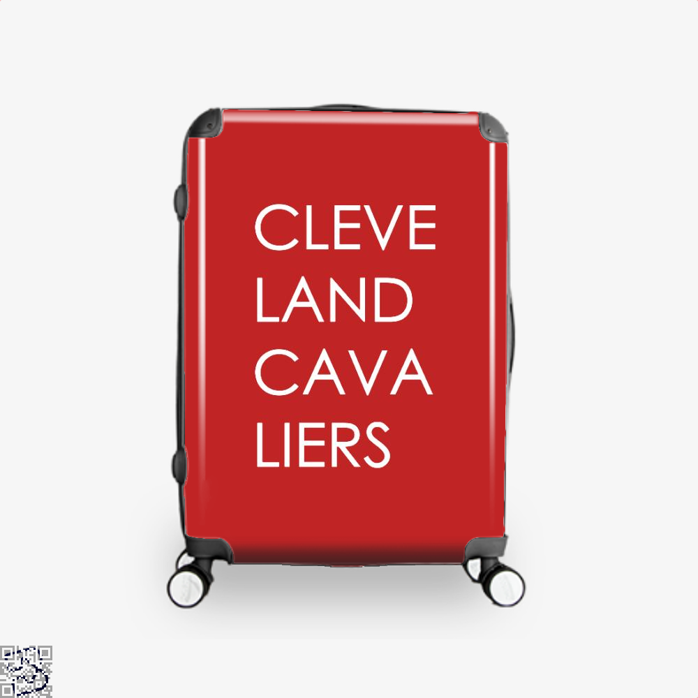 Cleveland Cavaliers Cavs Suitcase - Red / 16 - Productgenapi