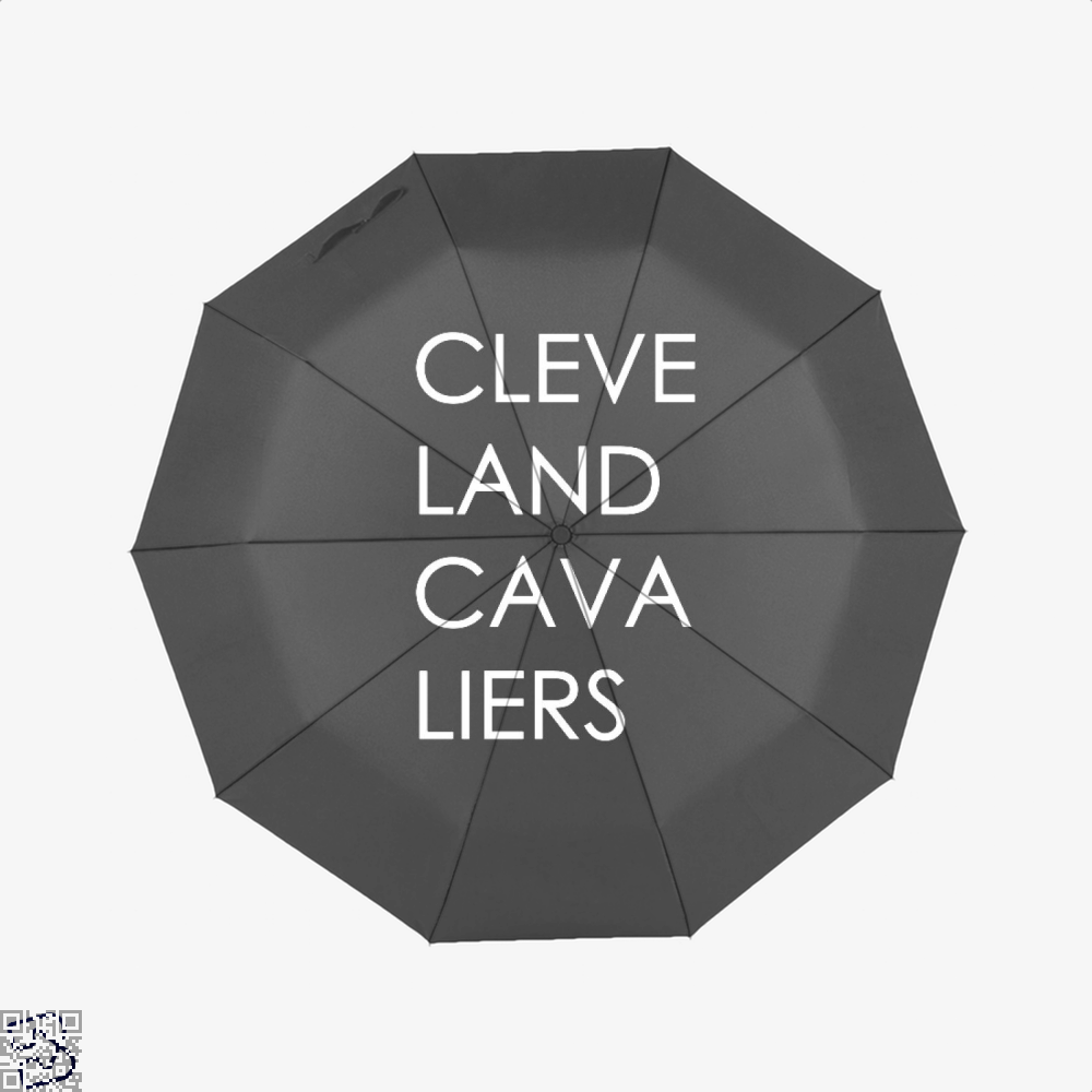 Cleveland Cavaliers Cavs Umbrella - Black - Productgenapi