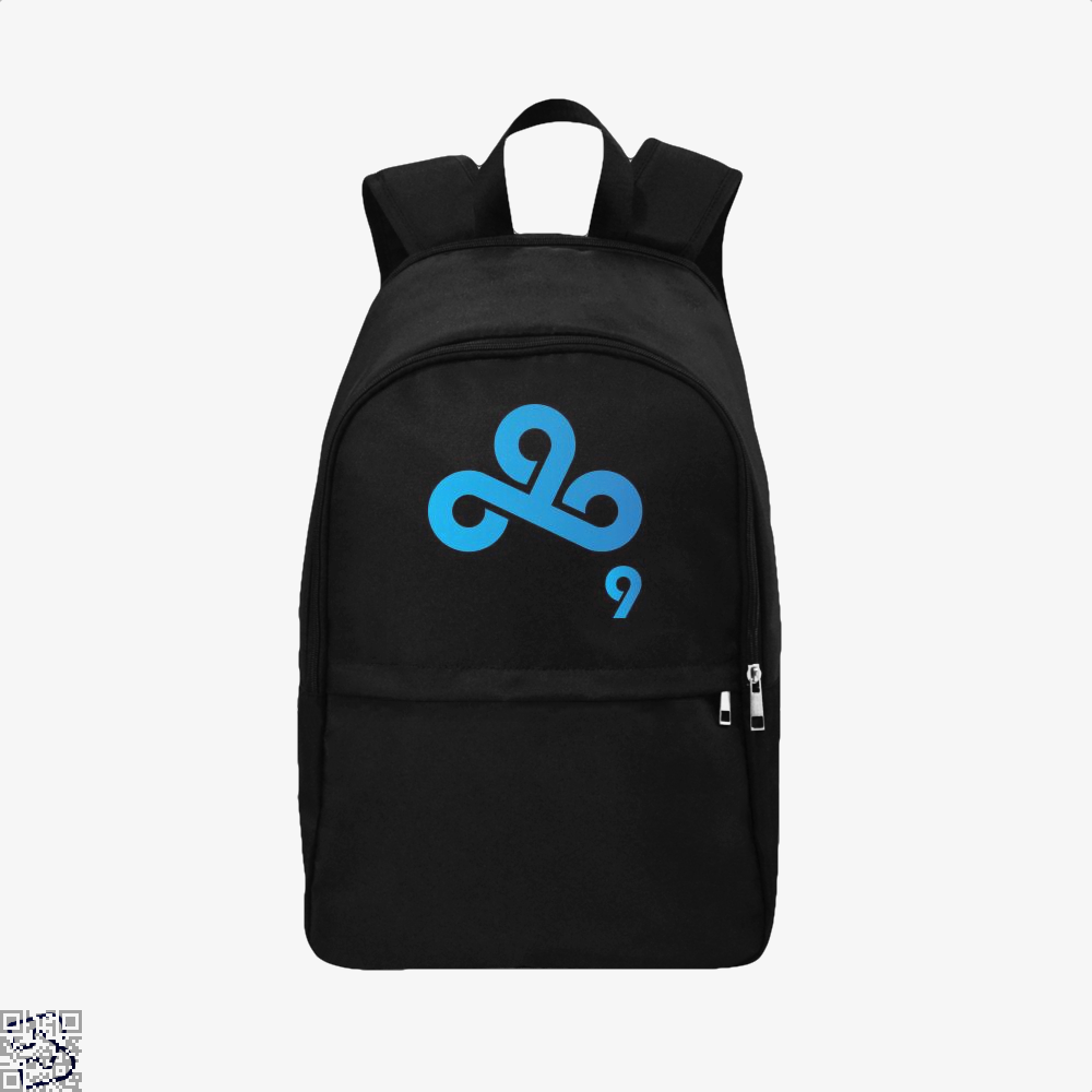 Cloud9 Dota2 Lcs Eu Spring2018 Team Logo Backpack - Black / Adult - Productgenjpg