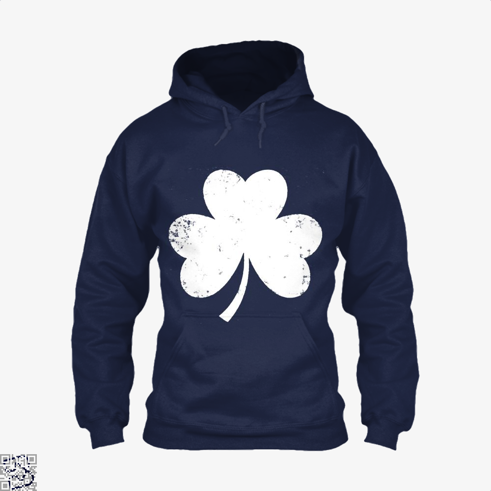 Clover Trefoil Saint Patricks Day Hoodie - Blue / X-Small - Productgenjpg