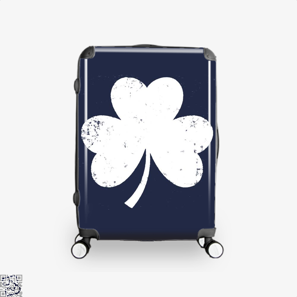 Clover Trefoil Saint Patricks Day Suitcase - Blue / 16 - Productgenjpg