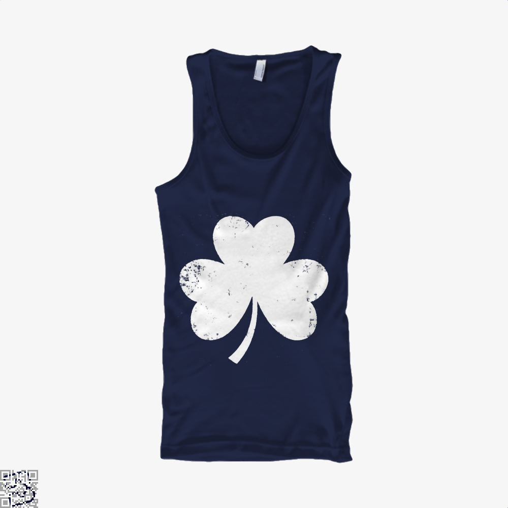 Clover Trefoil Saint Patricks Day Tank Top - Men / Blue / X-Small - Productgenjpg