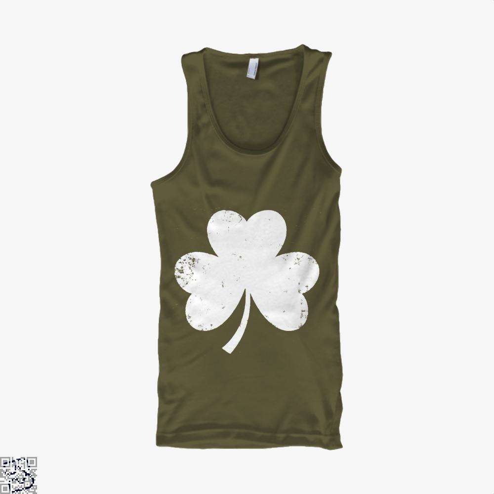 Clover Trefoil Saint Patricks Day Tank Top - Men / Brown / X-Small - Productgenjpg