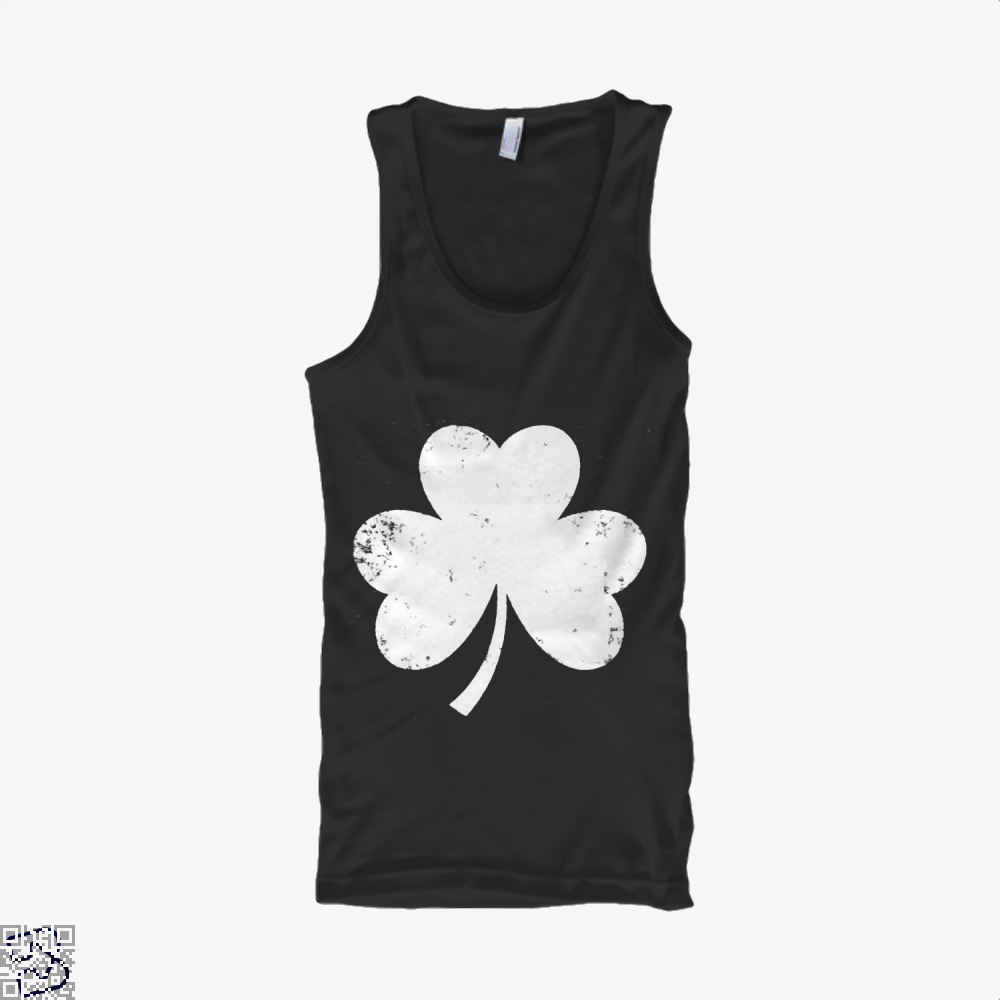 Clover Trefoil Saint Patricks Day Tank Top - Women / Black / X-Small - Productgenjpg