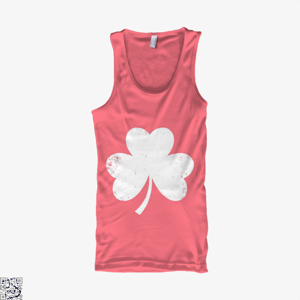 Clover Trefoil Saint Patricks Day Tank Top - Women / Pink / Xx-Small - Productgenjpg
